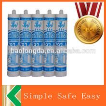 high adhesive clear 280ml caulking silicone sealant