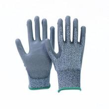 Nantong High Quality UHMWPE Polyurethane Coated Anti Cut Level 3 Gloves