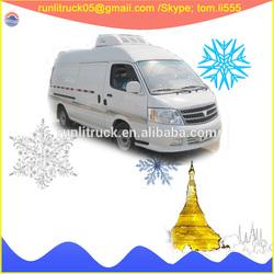 Foton vans supplier for foton view BJ6549BDPDA-AB 100hp 0.5cbm gasoline ice cream van sale in iran