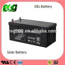 valve regulated gel 12V200AH sealed lead solar battery for UPS