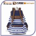 unisex de moda lienzo de la imagen de la mochila bolso de escuela para los adolescentes