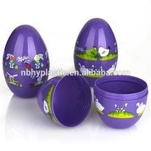 Promotion white big Plastic easter Egg