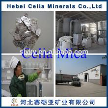 Hebei Celia Good Toughness Mica Scrap