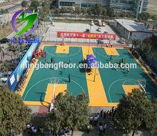 Outdoor Basketball Floating PP Interlocking Flooring