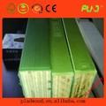 2014 china nova invenção!! A construção de materiais de construção de madeira compensada enfrentada película