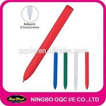 plastic book marker pen,clear penholder
