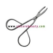 scissor shape brow tweezer BTW007