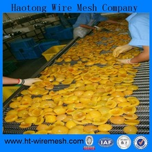 Food Industry Machinery 316L Metal Weave Wire Mesh Conveyor Belt