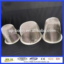 Stainless steel mesh tea leaves spice strainer basket(Factory)