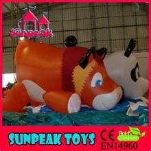 BL-607 Sunpeak Promotion Helium Giant Inflatable Christmas Decoration Dog