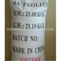 una fábrica más bajo de la zeolita 4a precio de zeolita sintética para la limpieza y detergente