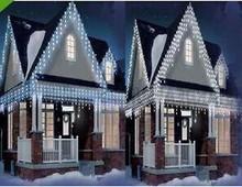 960 CHRISTMAS LED ICICLE LIGHTS 480 leds BRIGHT PARTY WEDDING XMAS light EMC LVD RoHS christmas dreamhouse led garland