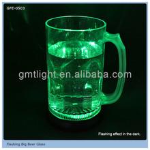 promotion led light champagne glass