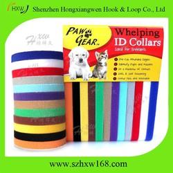 Easily adjustable VELCRO One Wrap Puppy Dog Kitten ID Collars