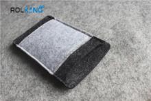nonflammable moible phone wool felt bag tote bag