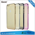 Fashionable hard back plastic slim shell cover for iphone6