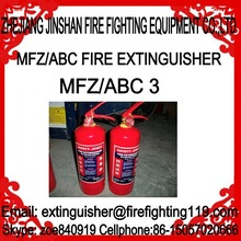 The most reliable and honest manufacture looking for good partner long term cooperation 3kg ABC dry powder fire extinguisher