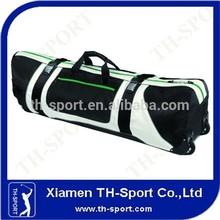 White And Black Travel Nylon Golf Bag Covers