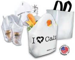 Plastic Bag OEM Custom Printed Plastic Shopping Bag