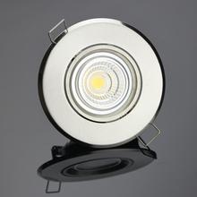 6W GU10 holder led downlighting