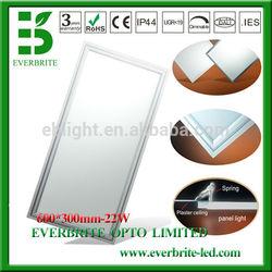 Embedded Epistar color adjustable led panel 600 300mm 22w led panel light