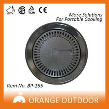 Portátil fogão a gás de alumínio para churrasco grill pan
