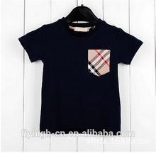 popular short sleeve custom 100% cotton kids t shirt