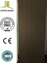 2014 latest design print PVC coated interior wooden laminated doors
