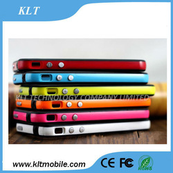 Mobile phone case factory supply bumper metal case for huawei ascend p6