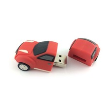 Top quality car shape 4gb silicon power usb flash drive