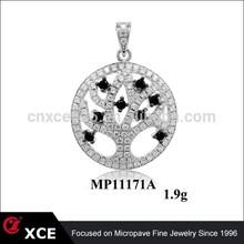 mandala tree of life pendant
