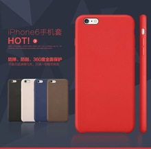 FL2597 For iphone 6 cover with ultra thin and flexible leather back cover 4.7 inch
