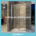 8mm molhado sala de vidro da porta deslizante do armário de banheiro bl-045f