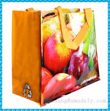 Shopping tote bag with pp lamination,Bopp laminated pp woven bag,PP woven bag China