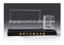 hot sale new design crystal office souvenir