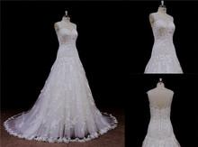 Super drape Knee-length ball gown princess style wedding dress 2012