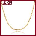 18k collar de oro de alibaba china 925 venta al por mayor de plata de ley de oro de la galjanoplastia babysbreath collar de cadena