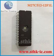 New ST IC DIP28 M27C512-12F1L