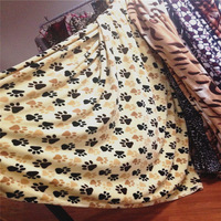 The Dog Footprints Blanket Shop Popular Blanket Stock From China