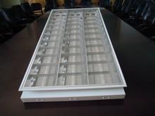 T8 fluorescent louver office surface aluminum reflector T8 Surface Mounted Fluorescent lighting fixture