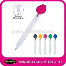 Leaf shape clip bookmark pen, bookmarker pen,white penholder