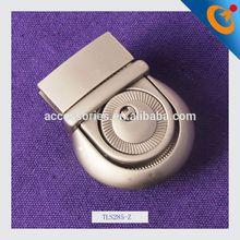 3 digit tsa combination lock metal handbag lock metal clip bag lock