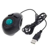 Cheap Finger Hand Held 4D USB Mini Trackball Mouse
