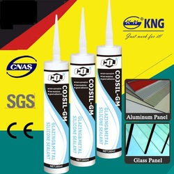 COJSIL-GM Grey silicone rubber building joint and glazing sealant