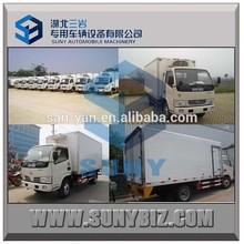12cbm 13cbm 14cbm refrigerator van truck for meat and fish for sale