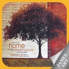New product wholesale alibaba express english printing canvas family tree 2