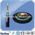 exterior fibra óptica subterrânea de cabos de fibra 12 g652 core