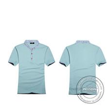 china wholesale cheap fashion short sleeve school uniform tshirt