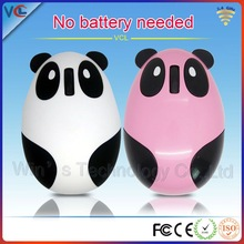 VMW-91 rechargeable 2.4ghz optical animal mouse wireless funny