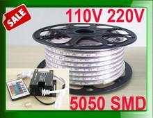 Advance promotion 220v light stripe 5050smd rgb strip